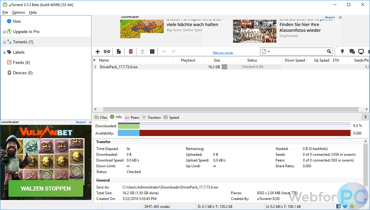 descargar utorrent para windows 10 64 bits 2018