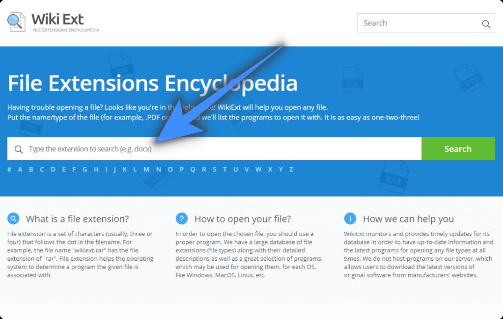 Wiki EXT - A File Extensions Encyclopedia - WebForPC