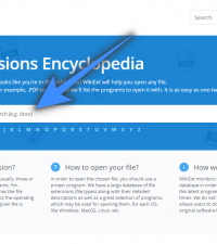 Wiki Ext – A File Extensions Encyclopedia
