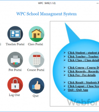 WPC School Management System 1.1.0