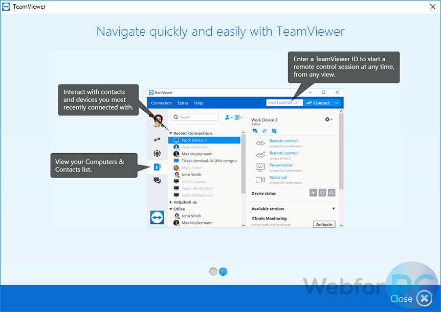 TeamViewer For Windows - Latest Version Download