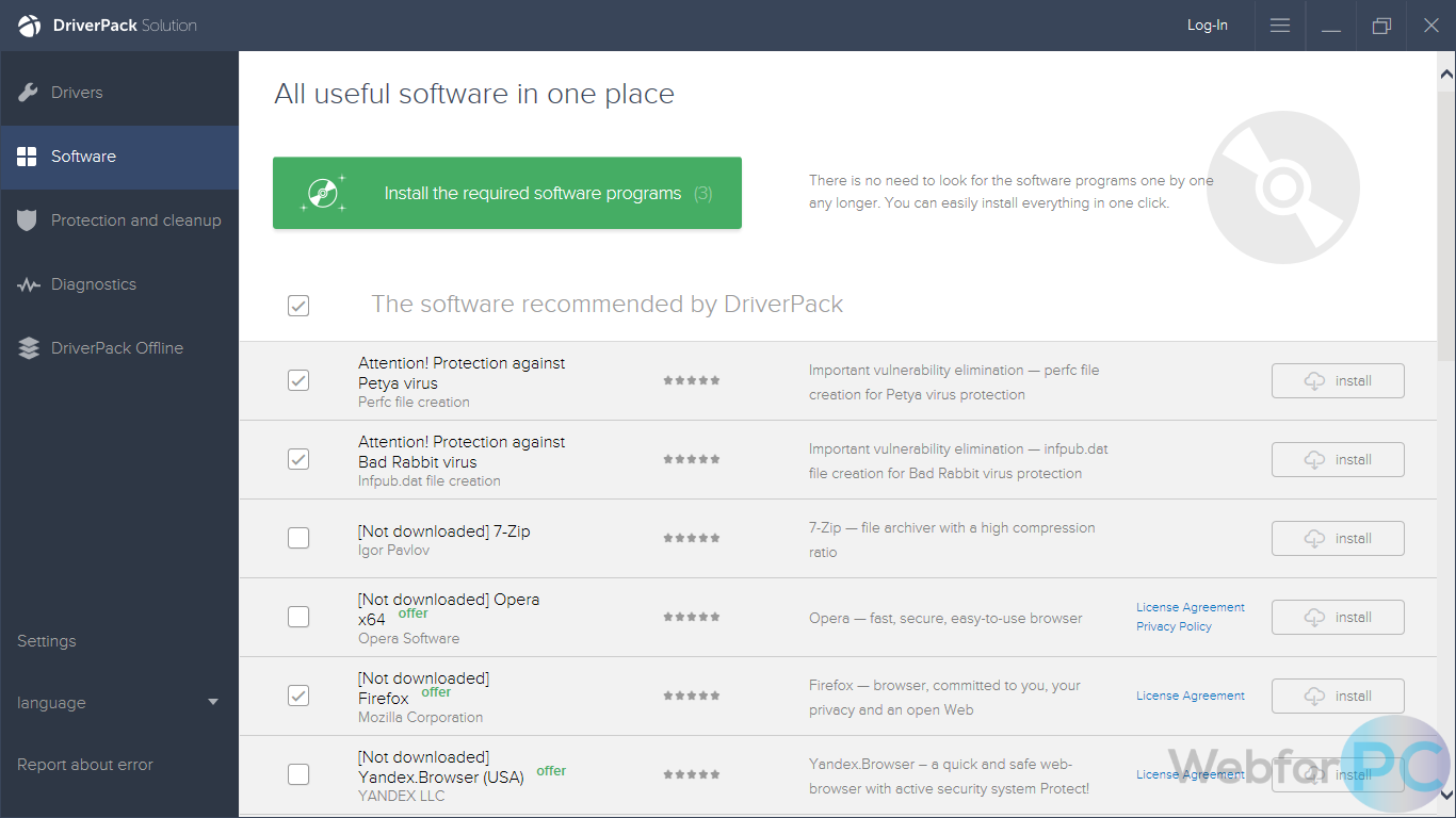 DriverPack Solution (Free) - Latest Version Download