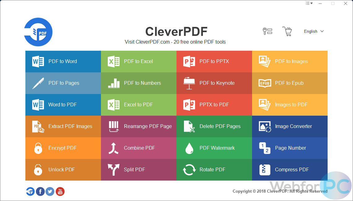 CleverPDF - Download For Windows - WebForPC