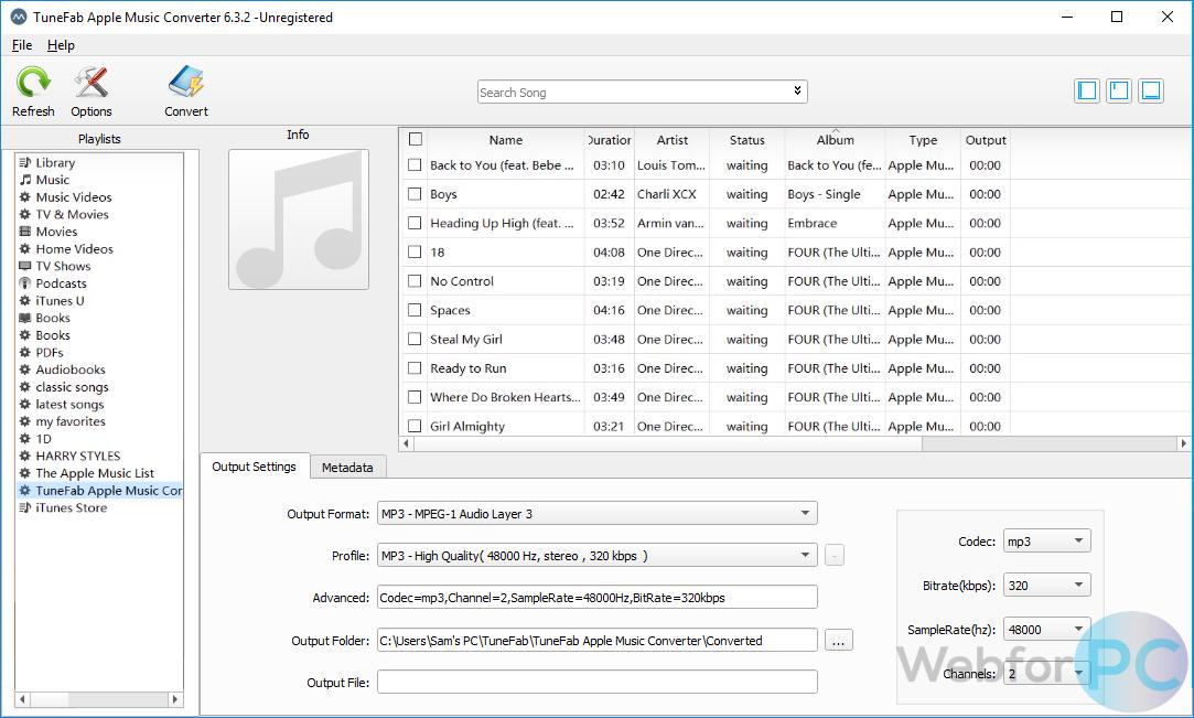 TuneFab Apple Music Converter 6 3 2 - For Windows & Mac