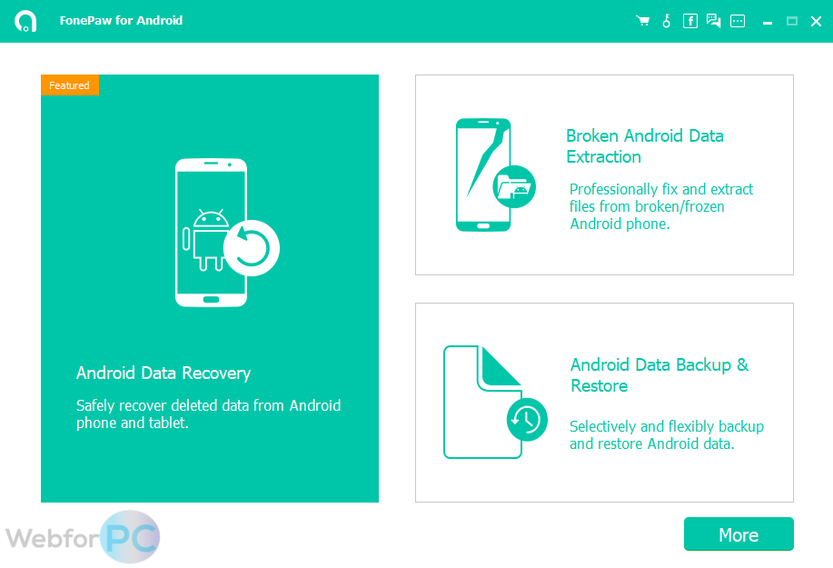 FonePaw Android Data Recovery 2 9 0 - Download For Windows