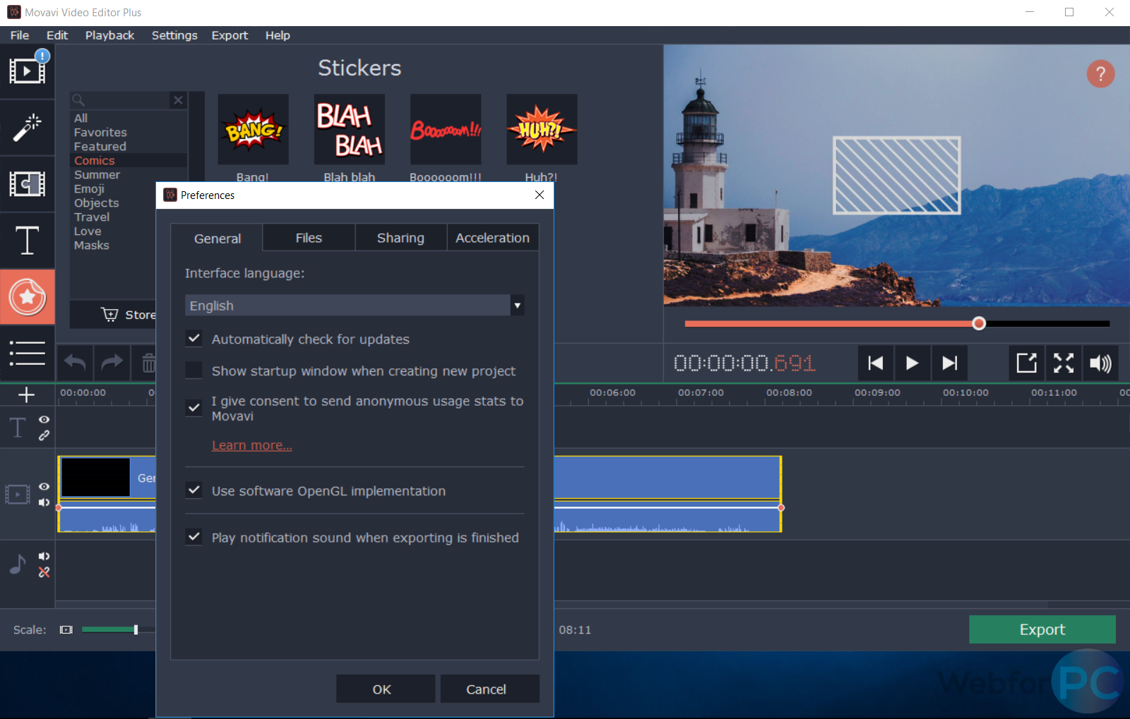 Movavi Video Editor Plus - Download For Windows - WebForPC