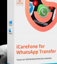 iCareFone – WhatsApp Transferencia